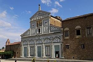 San Miniato al Monte - Image: San Miniato al Monte Fassade Florenz 10