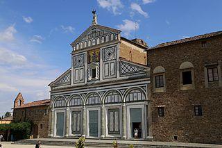 San Miniato al Monte Church in Florence, Italy