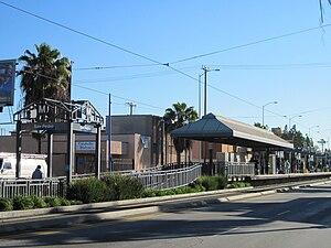 San Pedro Street station - San Pedro, circa 2009
