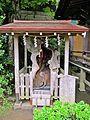 Sanctified tree of Kanahebi-Suijinja shrine.JPG