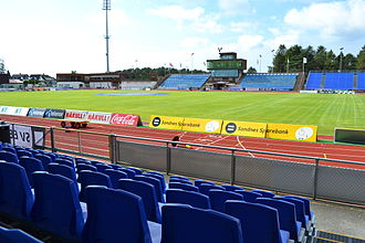 Sandnes Ulf - Sandnes stadium