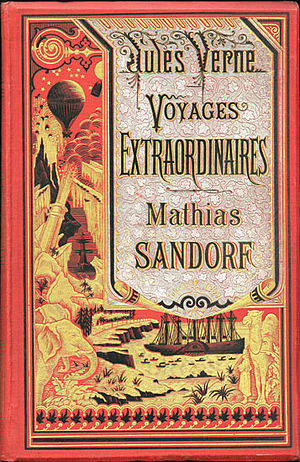 Mathias Sandorf - Hetzel first edition cover