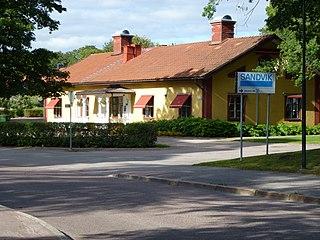 Sandviken Place in Gästrikland, Sweden
