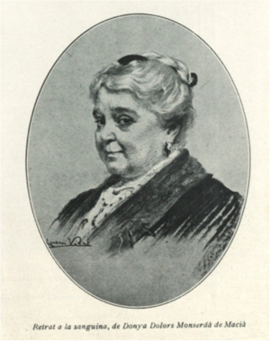 Monserdà de Macià, Dolors (1845-1919)