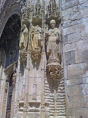 Santa Mar%C3%ADa la Real - Aranda de Duero - 4 padres Iglesia Occidente 20-07-07 1244