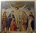Santa Maria sopra Minerva, Kammer der Sta. Caterina, Antoniazzo Romano, Kreuzigung.jpg