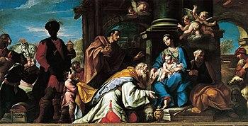 Sante Prunati Adoraci%C3%B3n de los Reyes Magos Museo della Basilica Gandino