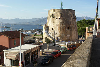 Arbatax - Image: Sardinien arbatax Turm