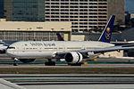 Saudia Boeing 777 at LAX (22313048864).jpg