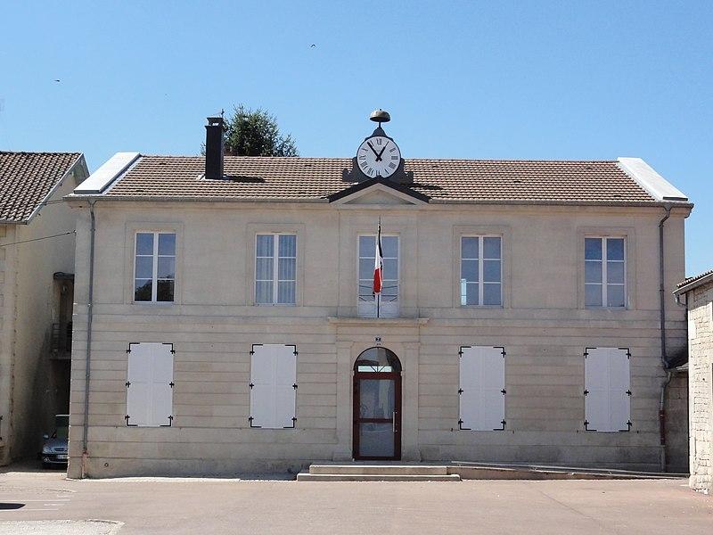 Savonnières-en-Perthois (Meuse) mairie