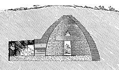 A corbel dome