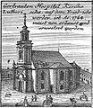 Schleuen - Gertrauden Hospital Kirche 1757.jpg