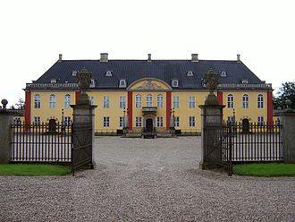 Ledreborg - Ledreborg, main gates