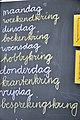 Schoolbord Krijtbord Week.JPG