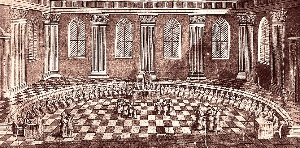 Schott Temple of Solomon Sanhedrin