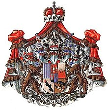Coat of arm of the Secundogeniture / Orlík branch