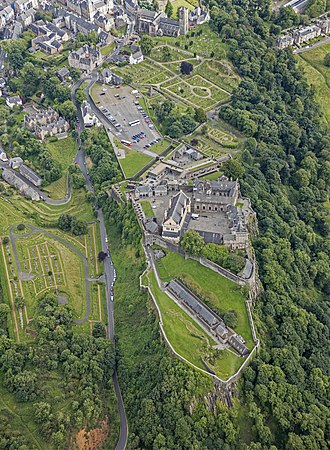 Siege of Stirling Castle (1746) - Stirling Castle, one of the strongest fortifications in Scotland