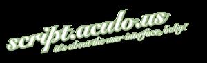 Script.aculo.us - Image: Scriptaculous logo