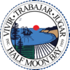 Official seal of Half Moon Bay, California
