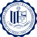Seal of St. Xavier High School (Cincinnati).png