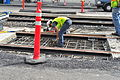 Seattle - laying trolley tracks on Broadway at Pine 17.jpg