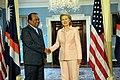 Secretary Clinton Holds a Bilateral With President of the Marshall Islands Iroij Jurelang Zedkaia (4615391754).jpg