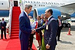 Secretary Kerry Arrives in Dhaka, Bangladesh (29233422211).jpg