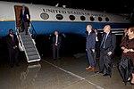 Secretary Kerry Deplanes After Landing at Ottawa International Airport in Ottawa, Canada (27894392451).jpg