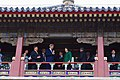 Secretary Kerry and Chinese Vice Premier Liu Stand in a Pagoda in Emperor Qianlong's Garden in the Forbidden City in Beijing (26935454663).jpg