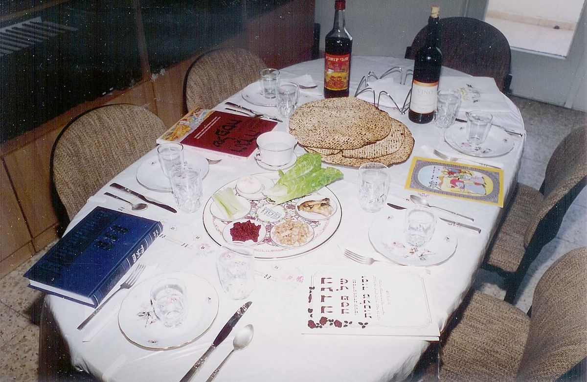 Pesach wikipedia for Table wikipedia