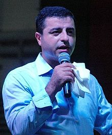 Selahattin Demirtas, Leader of Turkish HDP party