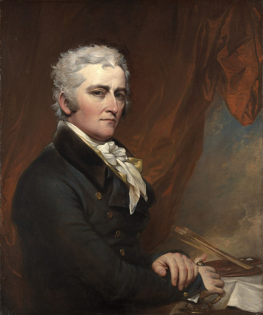 File Self Portrait By John Trumbull Circa 1802 Jpeg