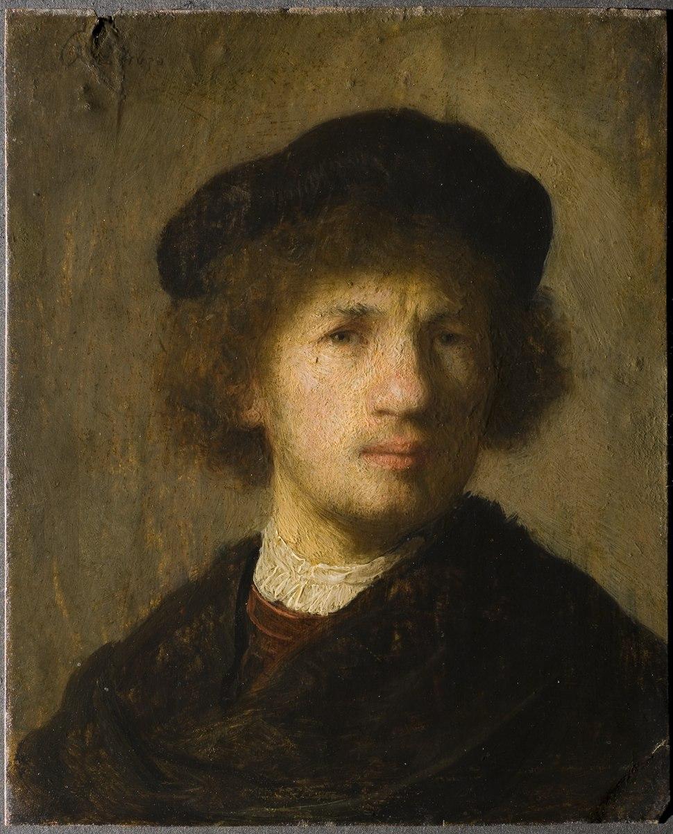Selfportrait (Rembrandt Harmensz. van Rijn) - Nationalmuseum - 22374