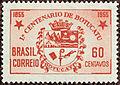 Selo Primeiro Centenário de Botucatu Castanho.jpg