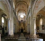 Nef vue de la croisée du transept