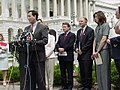 Senator Rick Santorum and other members of congress introduce the Born Alive Infants Protection Act.jpg