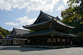 Sennyū-ji - Butsuden and Shariden