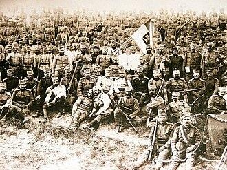 Greece–Serbia relations - Serbs in Corfu, 1916-1918