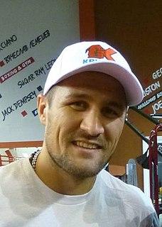 Sergey Kovalev (boxer) Russian boxer