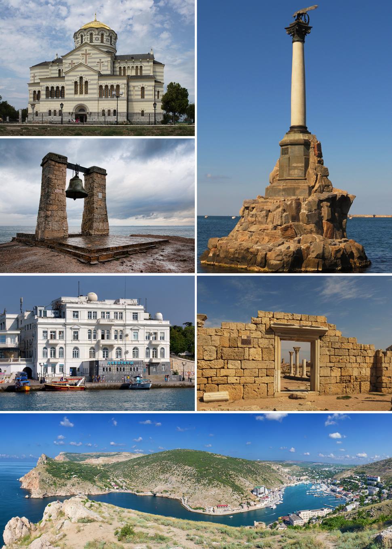Skyline of Sevastopol