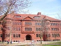Sever Hall (Harvard University) - west facade.JPG