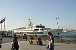 Sh-Fatih ferry at the Eminönü ferry pier on the Bosphorus in Istanbul, Turkey 001.JPG
