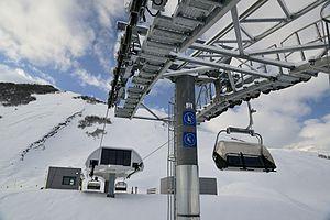 Shahdag Mountain Resort - Ski Lift Working in Shahdag
