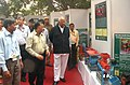 Sharad Pawar visiting the Indian Council of Agricultural Research Stall, at the Ministry of Agriculture Pavilion, during the 31st India International Trade Fair 2011, in New Delhi on November 21, 2011.jpg