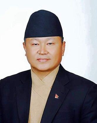 Communist Party of Nepal (Unified Marxist–Leninist) - Image: Sherdhan Rai