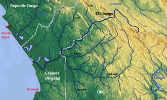 Chiloango River - Chiloango River basin