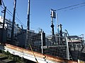 Shinkansen electricitypower transmission & signal communication booster for tunnel 01.jpg