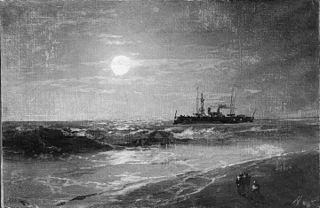 Ship by Moonlight