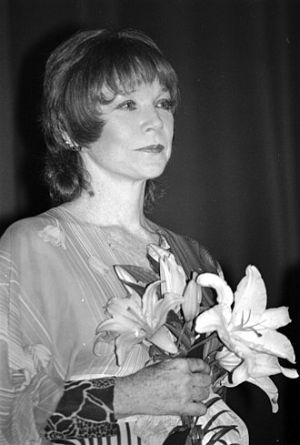 Shirley MacLaine - MacLaine in Deauville, France, in September 1987