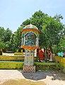 Shiva statue in Sant Nenuram ashram.jpg